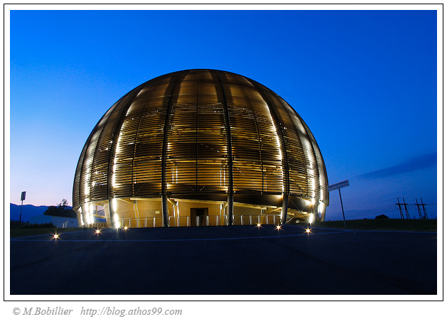 Cern Meyrin Le Globe de la Science et de l\'Innovation