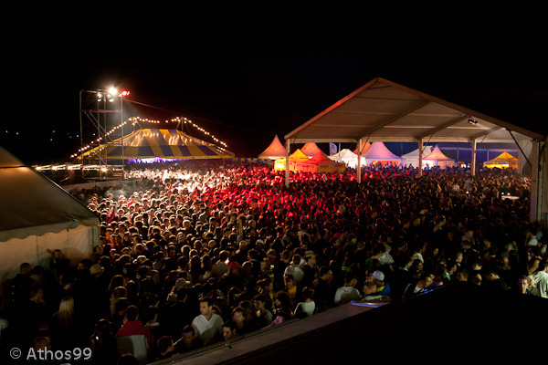 Affluence record au Vernier sur Rock 2011