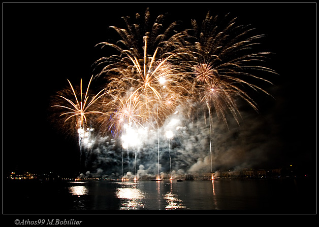 feux d'artifice des ftes de Genve