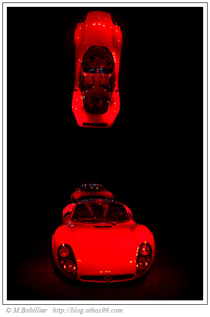 Alfa Romeo rouge passion